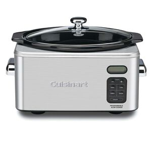 Cuisinart Programmable Slow Cooker, 6.5 qt.