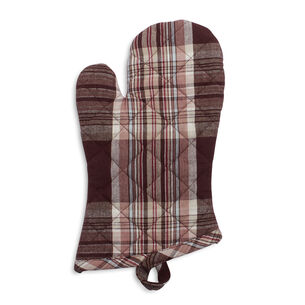 Fall Harvest Plaid Oven Mitt