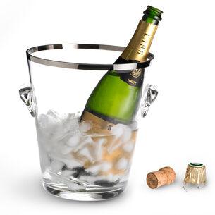 Peugeot Glass Champagne Bucket