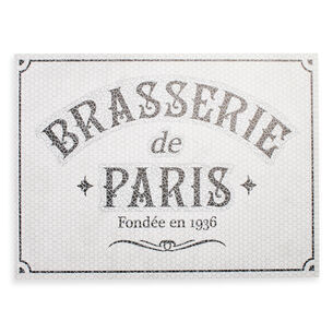 Sur la Table Brasserie Vinyl Placemat