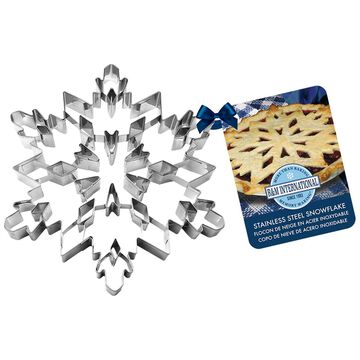 Large Snowflake Cookie Cutter, 7.5""
