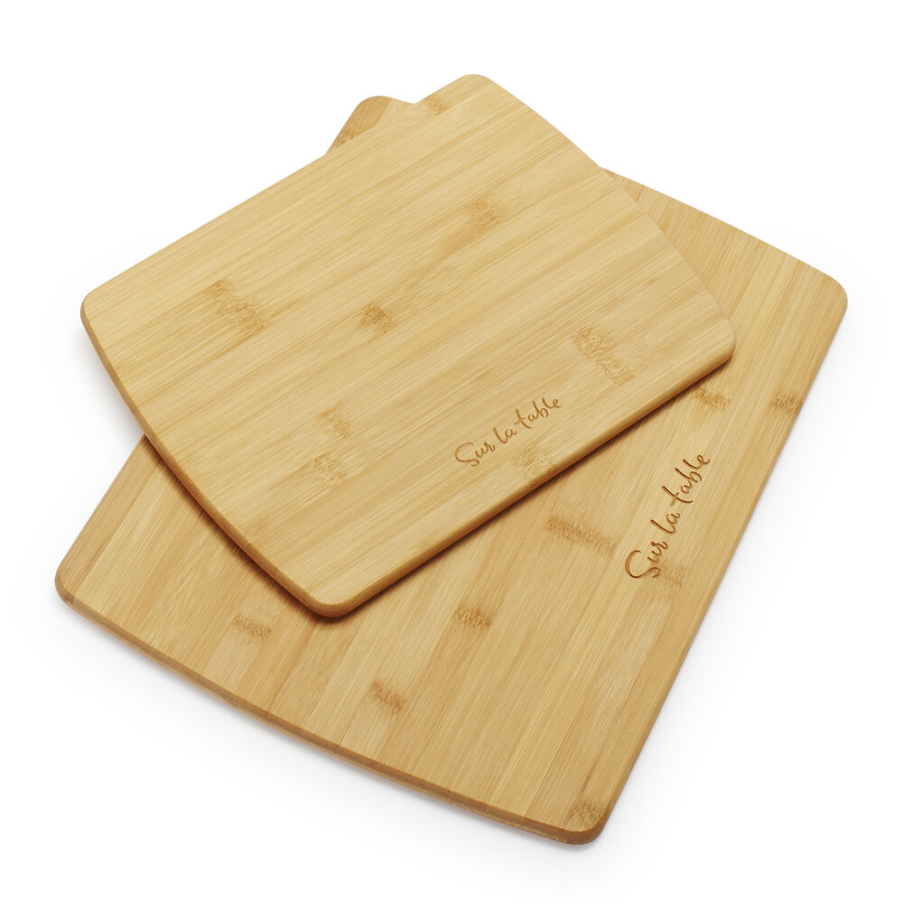 Sur La Table Bamboo Cutting Boards, Set of 2