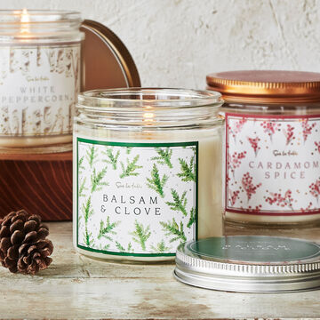 Balsam & Clove Soy Candle, 10.9 oz.