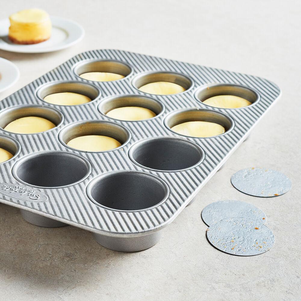 Sur La Table Platinum Pro Mini Cheesecake Pan, 12 Cavity