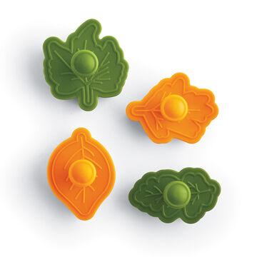 Leaf Pie Crust Cutters, Set of 4
