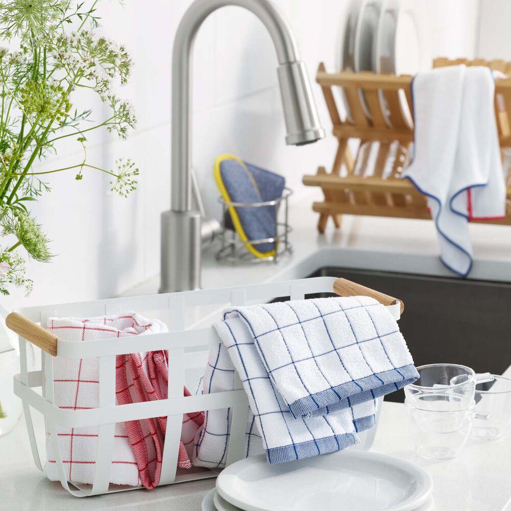 E-Cloth Classic Check Microfiber Dish Towels, Set of 4