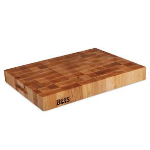 John Boos & Co. End-Grain Maple Chopping Block