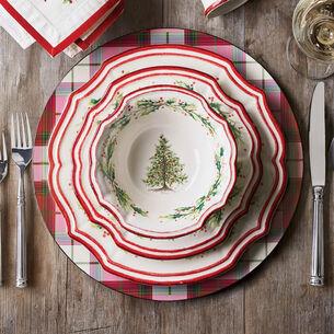 Holly and Pine 16-Piece Dinnerware Set