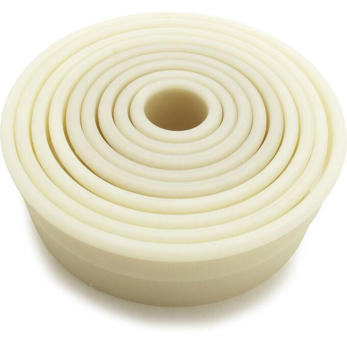 Fat Daddio's Round Nylon Cookie Cutter Set