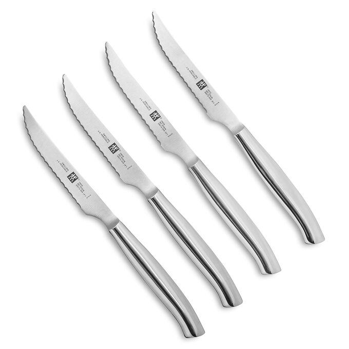 Zwilling J.A. Henckels Twin Stainless Steel Steak Knives, Set of 4