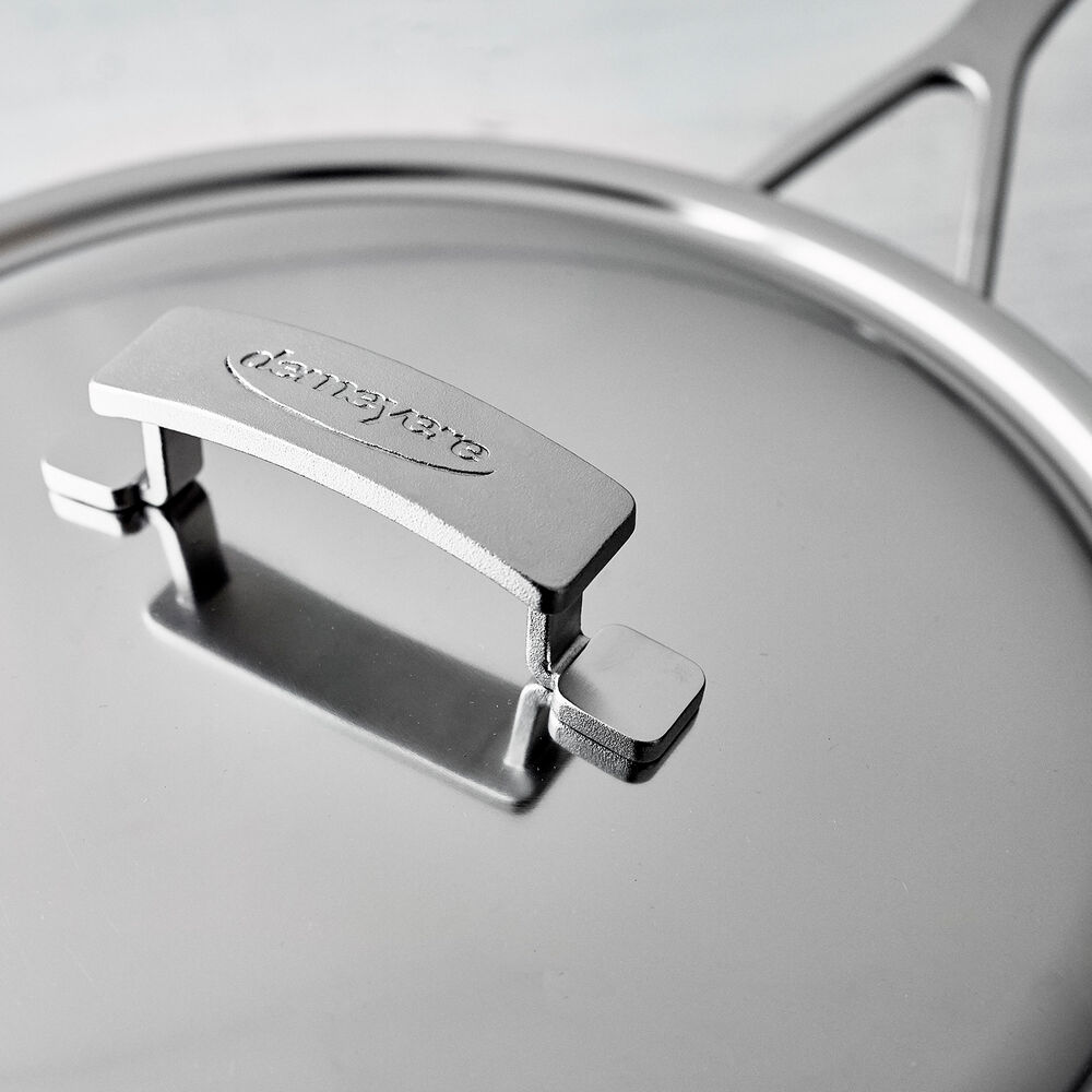 Demeyere Industry5 Sauté Pans with Thermo Lid