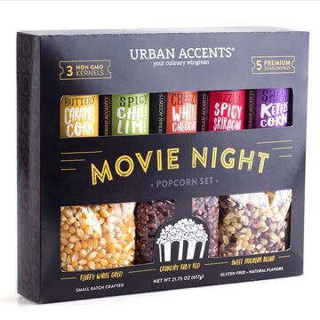 Urban Accents Movie Night Popcorn Set