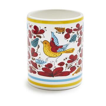 Nova Deruta Bird Mug, 13 oz.