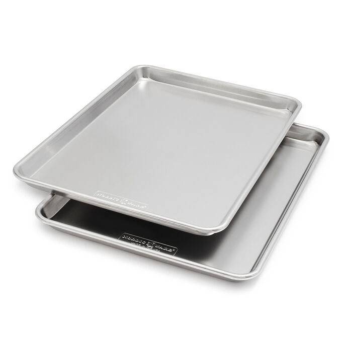 Nordic Ware Naturals for Sur La Table Half-Sheet Pans, Set of 2