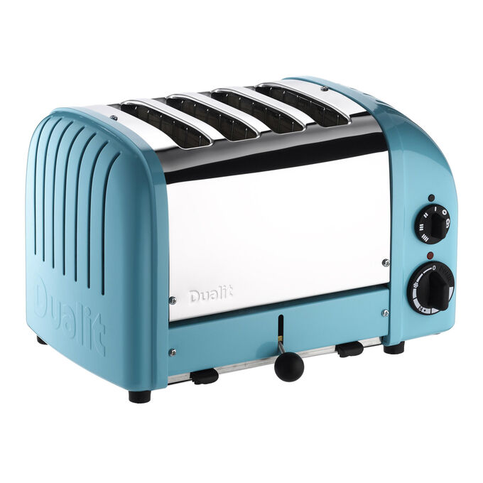 Dualit Azure-Blue NewGen 4-Slice Toaster