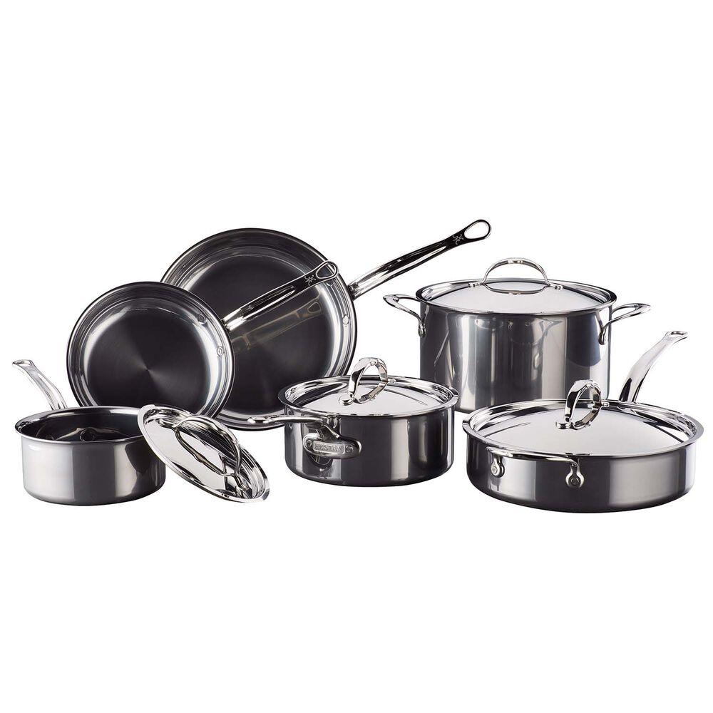 Hestan NanoBond Titanium Stainless Steel 10-Piece Cookware Set