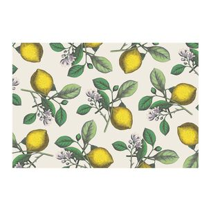 Lemon Paper Table Settings