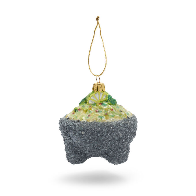 Guacamole Glass Ornament