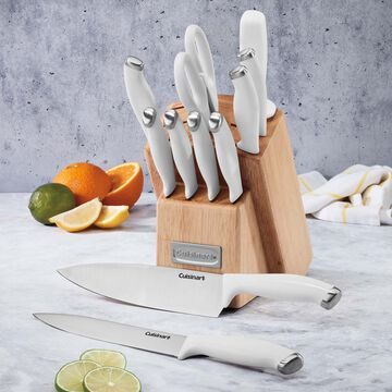 Cuisinart Color Pro 12-Piece Stainless Steel Knife Block