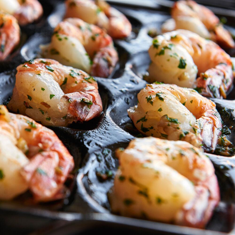 Sur La Table Pro Ceramic Shrimp and Scallop Pan
