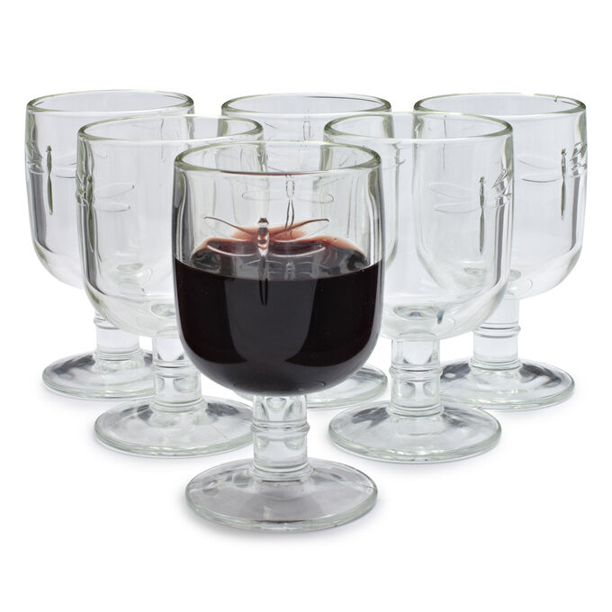 La Rochère Dragonfly Wine Glass, Set of 6