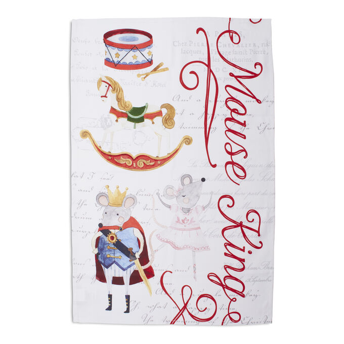 "Mouse King Kitchen Towel, 30"" x 20"""