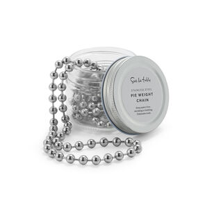 Sur La Table Stainless Steel Pie Weight Chain, 6'