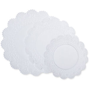 Round Paper Doilies, Set of 30