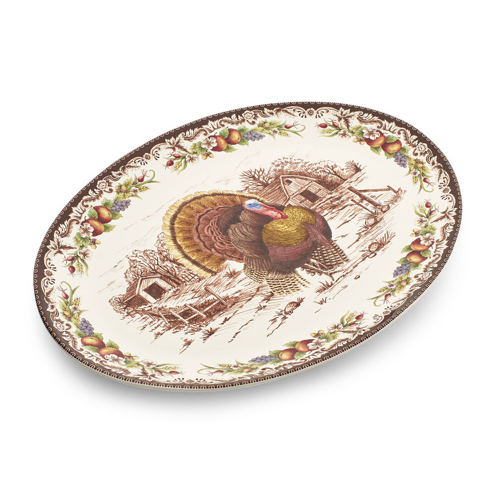 Turkey Oval Platter