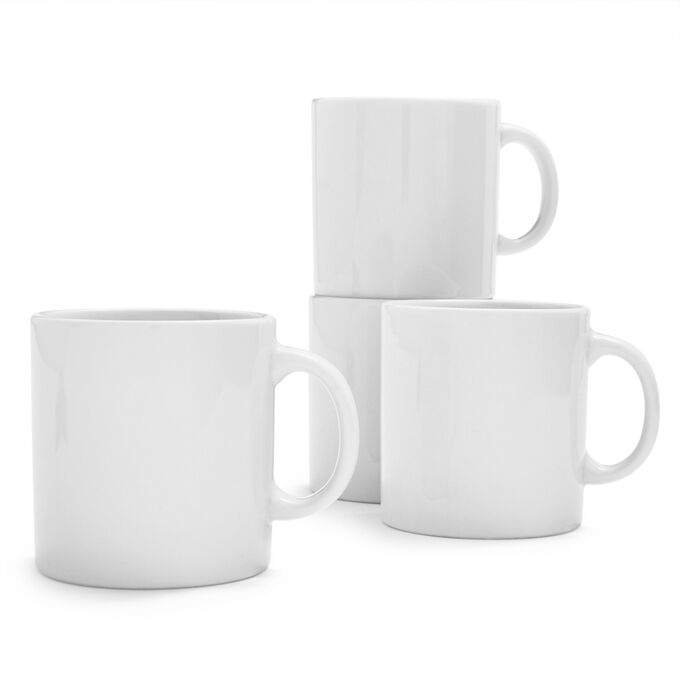 Coupe Mug, Set of 4