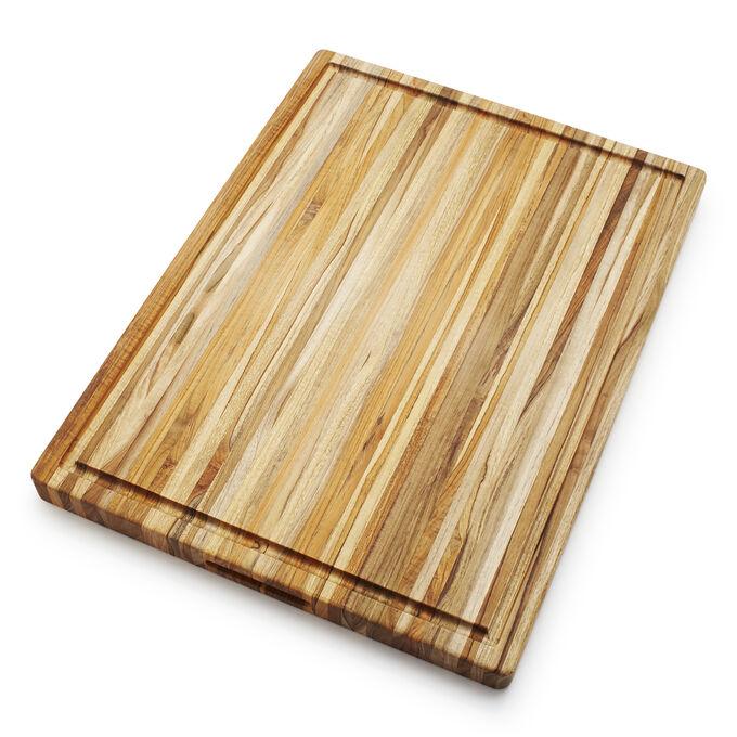Teakhaus Reversible Teak Edge Grain Cutting Board
