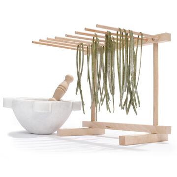 Italian Wood Pasta-Drying Rack