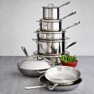 All-Clad Copper Core 14-Piece Set