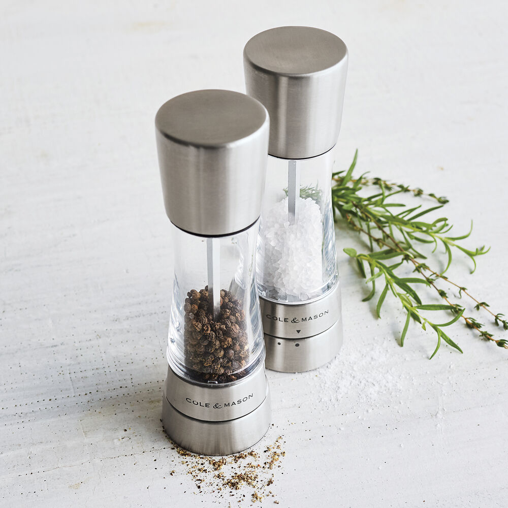 Cole & Mason Derwent Salt & Pepper Mills, Stainless Steel