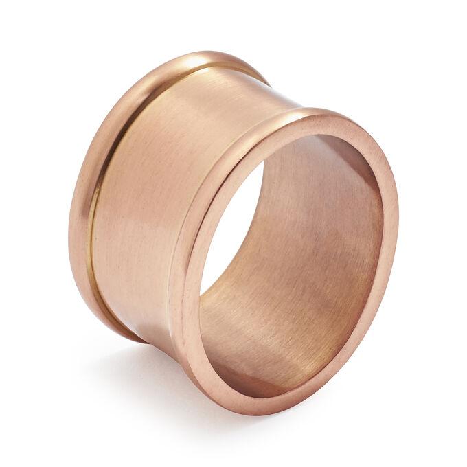 Oval Copper Napkin Ring