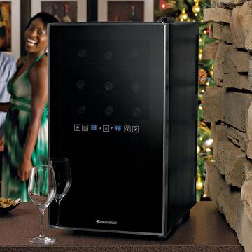 Wine Enthusiast Silent Wine Refrigerator, 18 Bottle
