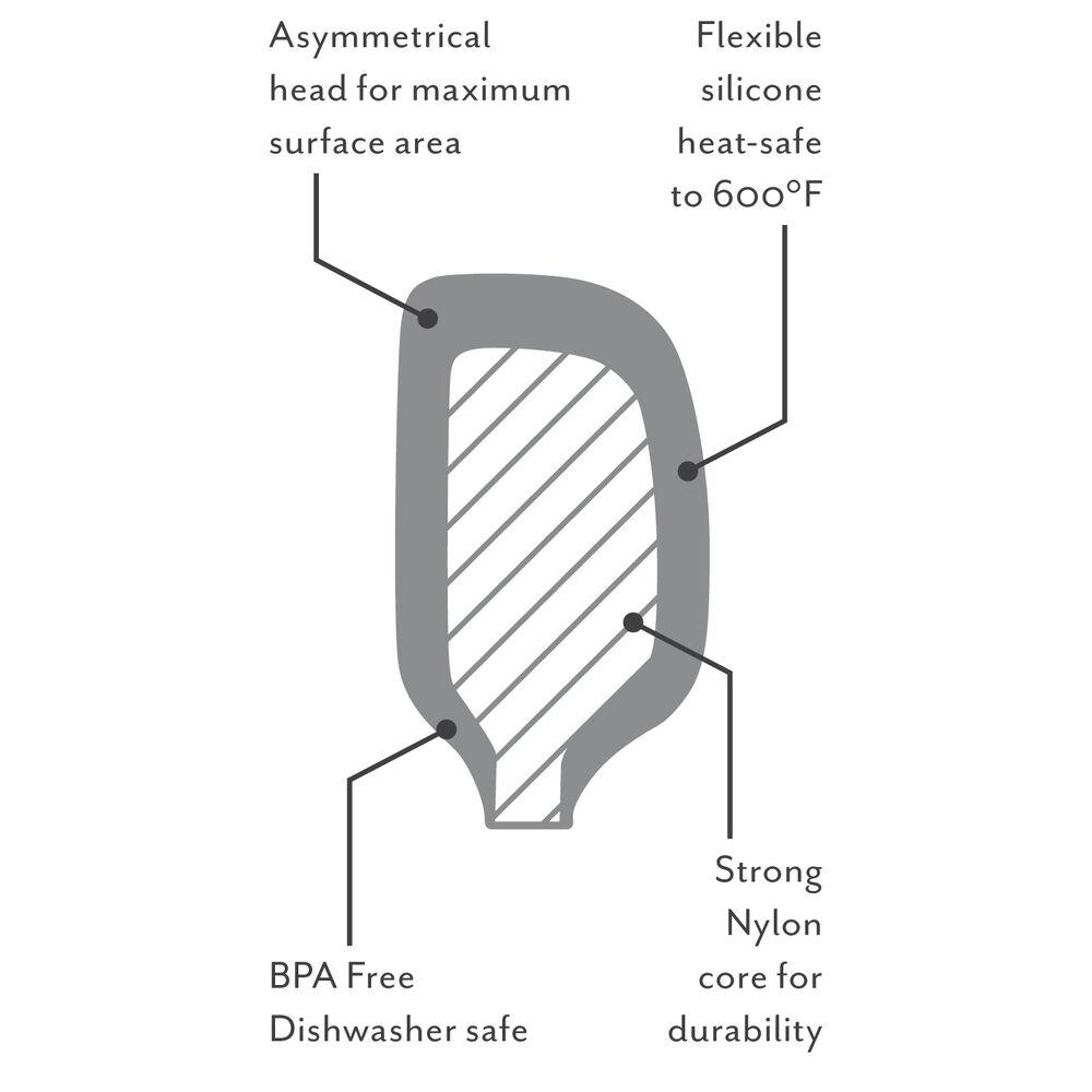 Sur La Table Flex-Core Silicone Spatula Spoon