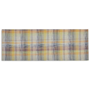 Chilewich Plaid Sorbet Floor Mat