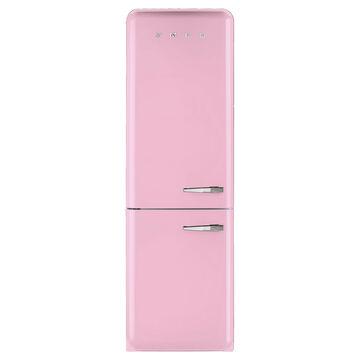 SMEG Two-Door Refrigerator with Frost-Free Freezer, Left-Hand Hinge