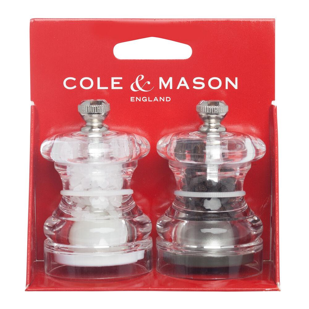 Cole & Mason Button Salt and Pepper Mill Gift Set