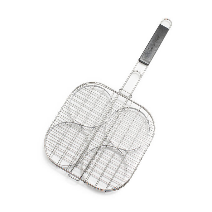 Stainless Steel Burger Grilling Basket