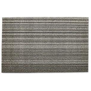 Chilewich Skinny Stripe Shag Mat, Birch