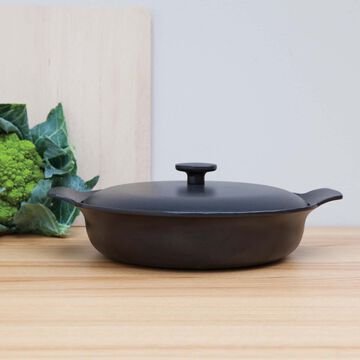 BergHOFF Ron Cast Iron Casserole with Lid, 3.5 qt.