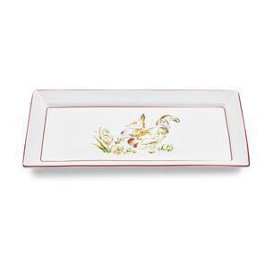 "Farmhouse Rectangular Platter, 6.7"" x 13.5"""
