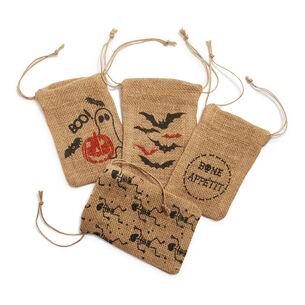 Halloween Treat Bags, Set of 4