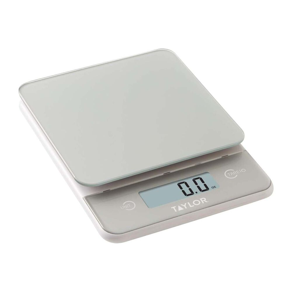 Taylor Digital Glass Kitchen Scale, 11 lb.