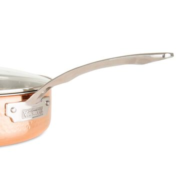 Viking Copper Clad 3-Ply Hammered 10-Piece Cookware Set