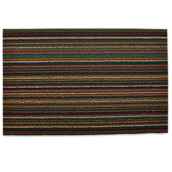 Chilewich Skinny Stripe Shag Mat, Multi