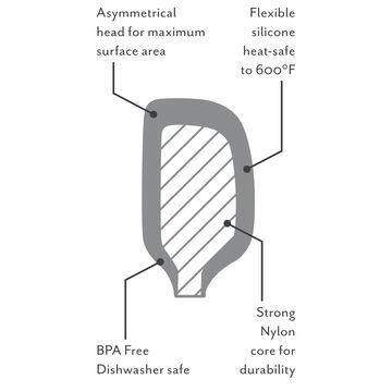 Sur La Table Flex-Core Silicone Spatula