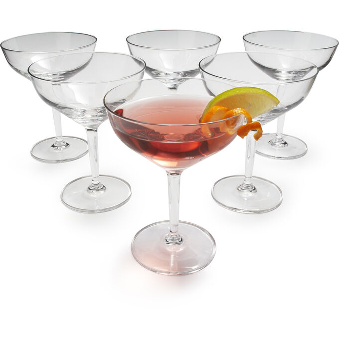 Schott Zwiesel Bar Collection Contemporary Martini Glass, Set of 6